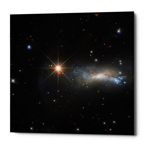 "Epic Graffiti ""Outshine"" Hubble Space Telescope Giclee Canvas Wall Art"