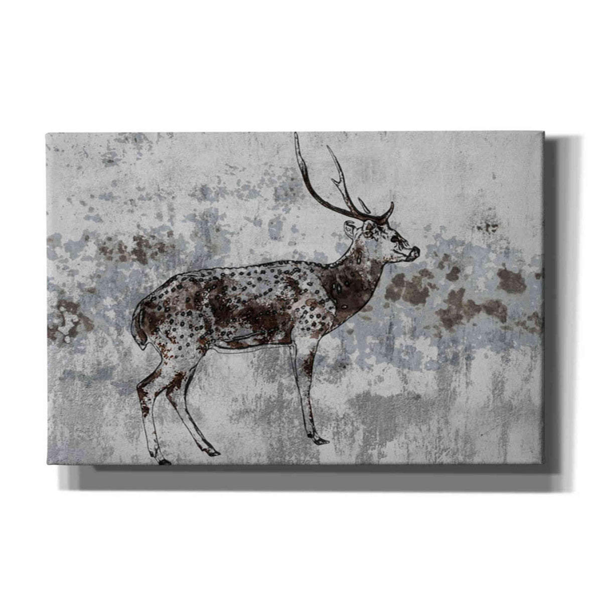 Epic Graffiti 'Sika Deer 1' by Irena Orlov, Giclee Canvas Wall Art