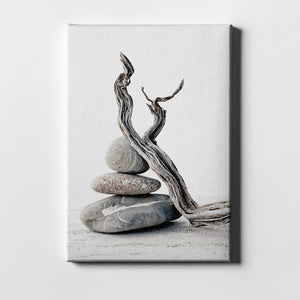 "Epic Graffiti ""Elemental Zen"" by Elena Ray Giclee Canvas Wall Art"