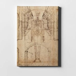 "Epic Graffiti ""Renaissance Angel"" by Elena Ray Giclee Canvas Wall Art"