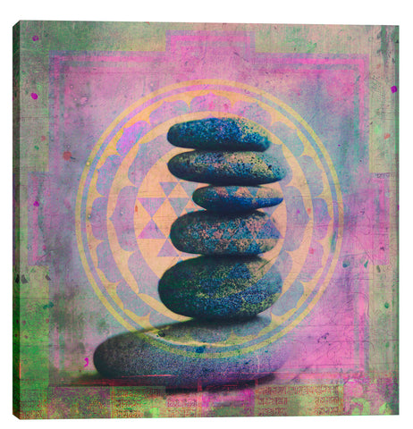 "Epic Graffiti ""Soul In Balance""  by Elena Ray Giclee Canvas Wall Art"