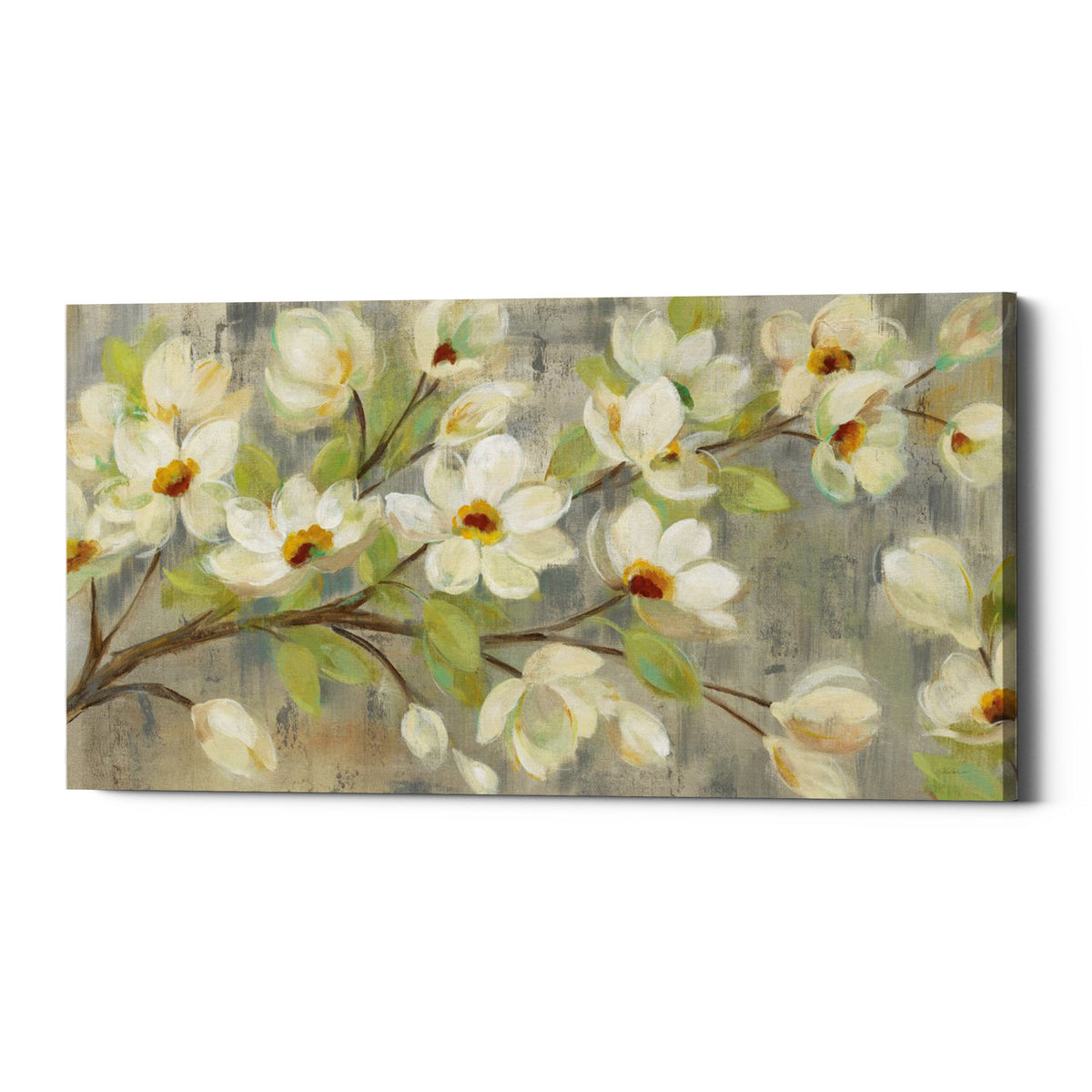 "Epic Graffiti ""April Branch"" by Silvia Vassileva, Giclee Canvas Wall Art"