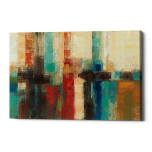 "Epic Graffiti ""Aqua Horizon"" by Silvia Vassileva, Giclee Canvas Wall Art"
