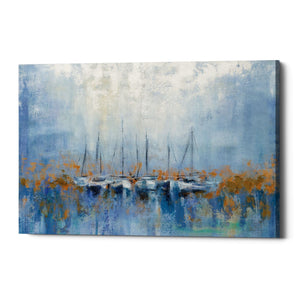 "Epic Graffiti ""Boats in the Harbor"" by Silvia Vassileva, Giclee Canvas Wall Art"