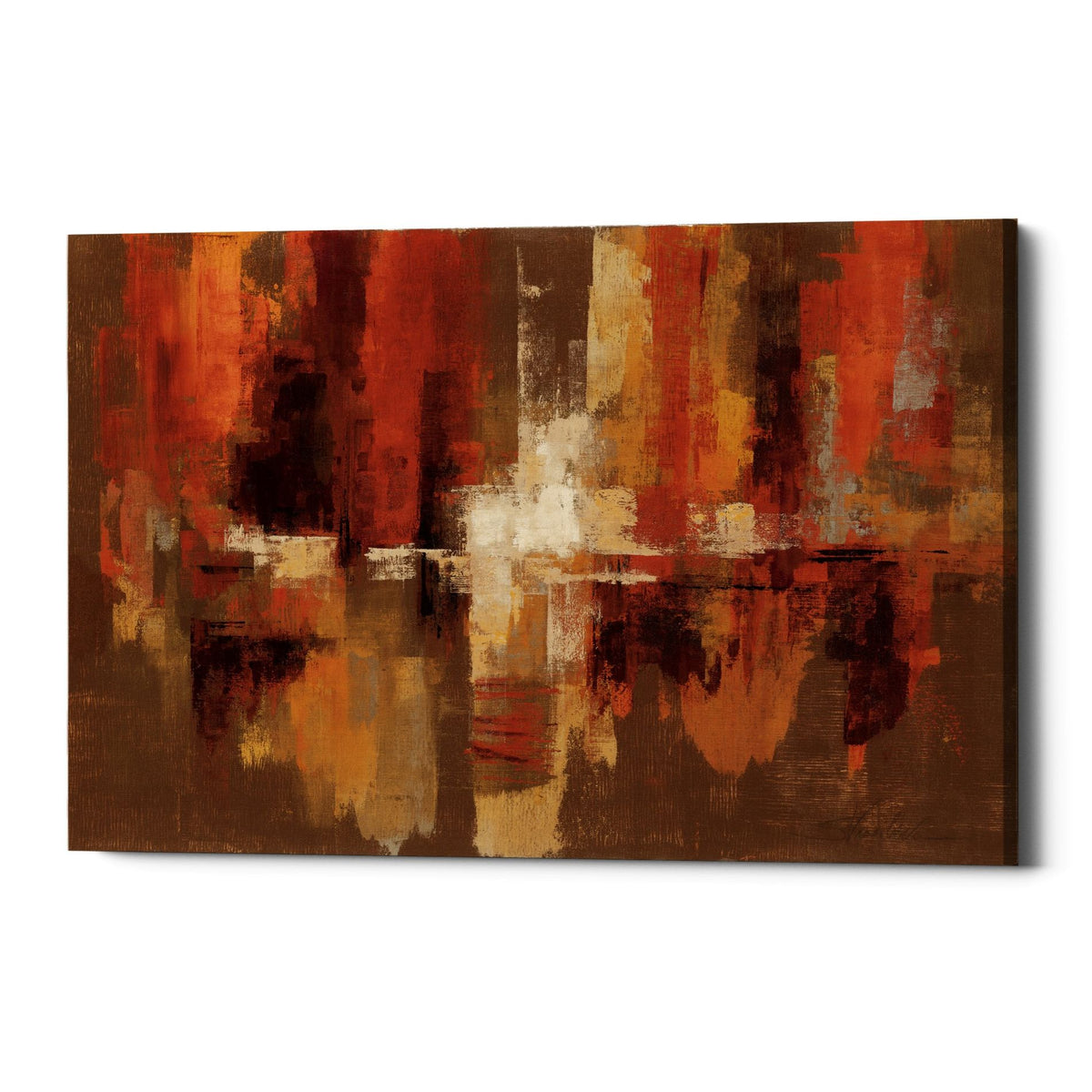 "Epic Graffiti ""Castanets"" by Silvia Vassileva, Giclee Canvas Wall Art"