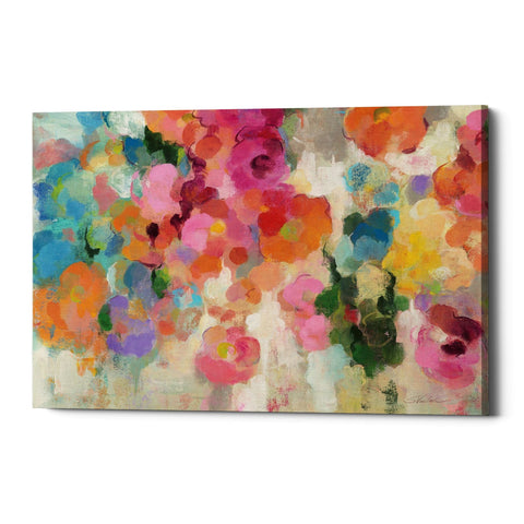 "Epic Graffiti ""Colorful Garden I"" by Silvia Vassileva, Giclee Canvas Wall Art"