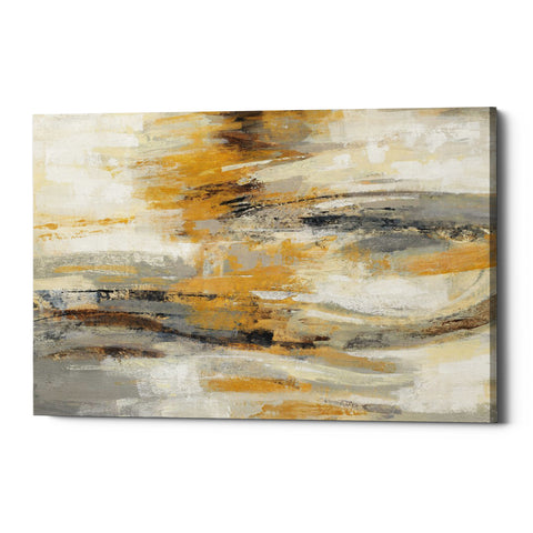 "Epic Graffiti ""Golden Dust"" by Silvia Vassileva, Giclee Canvas Wall Art"