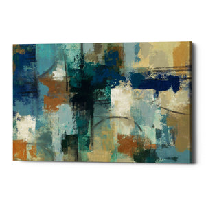 "Epic Graffiti ""Jasper Lagoon"" by Silvia Vassileva, Giclee Canvas Wall Art"