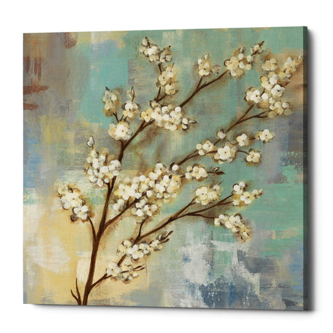 "Epic Graffiti ""Kyoto Blossoms I"" by Silvia Vassileva, Giclee Canvas Wall Art"