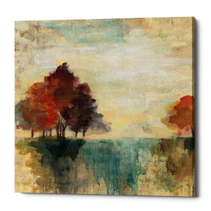 "Epic Graffiti ""Landscape Monotype II"" by Silvia Vassileva, Giclee Canvas Wall Art"
