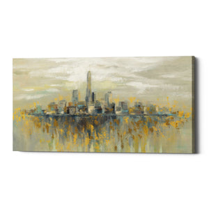 "Epic Graffiti ""Manhattan Fog"" by Silvia Vassileva, Giclee Canvas Wall Art"