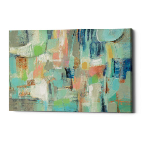 "Epic Graffiti ""Morning Breeze"" by Silvia Vassileva, Giclee Canvas Wall Art"