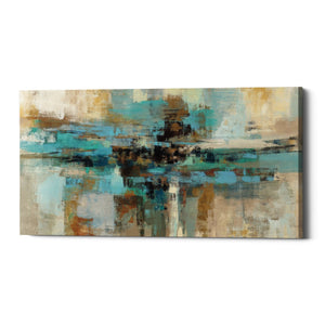 "Epic Graffiti ""Morning Fjord"" by Silvia Vassileva, Giclee Canvas Wall Art"