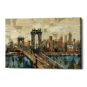 "Epic Graffiti ""New York View"" by Silvia Vassileva, Giclee Canvas Wall Art"