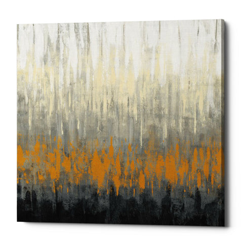 "Epic Graffiti ""Rain On The Asphalt"" by Silvia Vassileva, Giclee Canvas Wall Art"