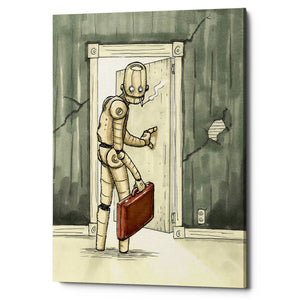 "Epic Graffiti ""I'll Be Back"" by Craig Snodgrass, Giclee Canvas Wall Art"