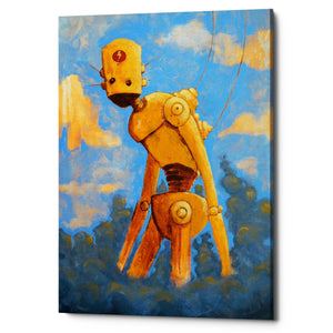 "Epic Graffiti ""In The Clouds"" by Craig Snodgrass, Giclee Canvas Wall Art"