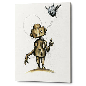 "Epic Graffiti ""Ink Bot 1.0"" by Craig Snodgrass, Giclee Canvas Wall Art"