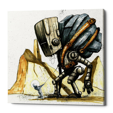 "Epic Graffiti ""Ink Bot 2.0"" by Craig Snodgrass, Giclee Canvas Wall Art"