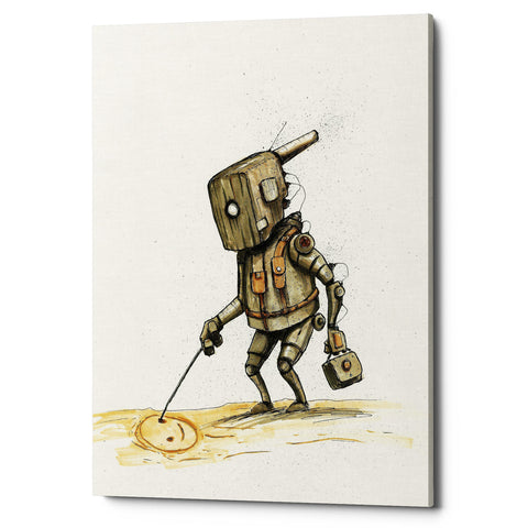 "Epic Graffiti ""Ink Bot 3.0"" by Craig Snodgrass, Giclee Canvas Wall Art"