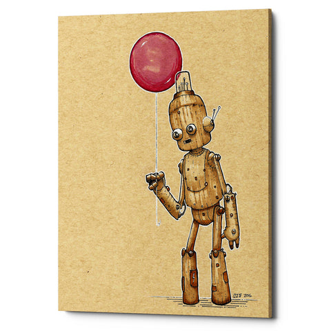 "Epic Graffiti ""Ink Bot Balloon"" by Craig Snodgrass, Giclee Canvas Wall Art"