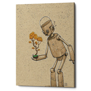"Epic Graffiti ""Ink Bot Bonsai"" by Craig Snodgrass, Giclee Canvas Wall Art"