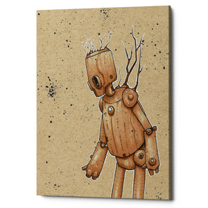 "Epic Graffiti ""Ink Bot Tree"" by Craig Snodgrass, Giclee Canvas Wall Art"