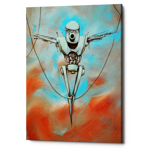 "Epic Graffiti ""Martyr"" by Craig Snodgrass, Giclee Canvas Wall Art"