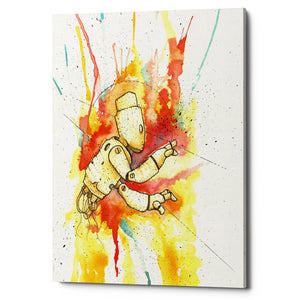 "Epic Graffiti ""Nimbus Bot"" by Craig Snodgrass, Giclee Canvas Wall Art"