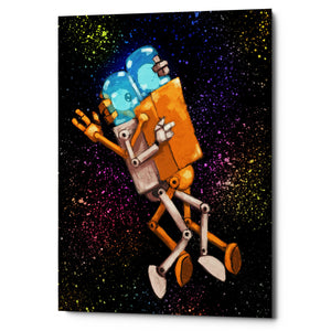 "Epic Graffiti ""Robo Love"" by Craig Snodgrass, Giclee Canvas Wall Art"