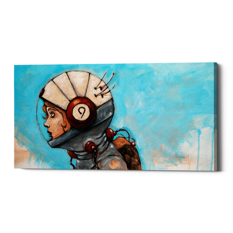 "Epic Graffiti ""Rosie The Rocketeer"" by Craig Snodgrass, Giclee Canvas Wall Art"