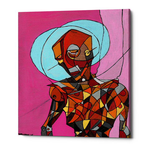 "Epic Graffiti ""Segmented Man"" by Craig Snodgrass, Giclee Canvas Wall Art"