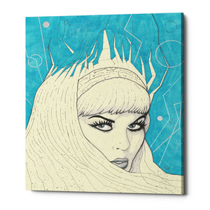 "Epic Graffiti ""Space Queen Ice"" by Craig Snodgrass, Giclee Canvas Wall Art"