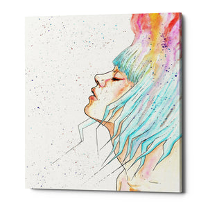 "Epic Graffiti ""Space Queen Rebirth"" by Craig Snodgrass, Giclee Canvas Wall Art"