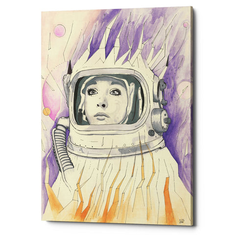 "Epic Graffiti ""Space Queen Reconstruct"" by Craig Snodgrass, Giclee Canvas Wall Art"