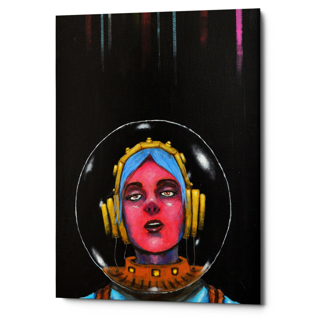 "Epic Graffiti ""Starship Stella"" by Craig Snodgrass, Giclee Canvas Wall Art"