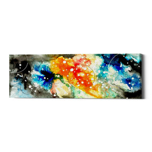 "Epic Graffiti ""Watercolor Nebula 1.0"" by Craig Snodgrass, Giclee Canvas Wall Art"
