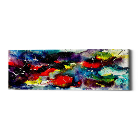"Epic Graffiti ""Watercolor Nebula 2.0"" by Craig Snodgrass, Giclee Canvas Wall Art"