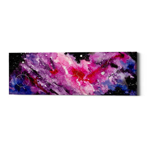 "Epic Graffiti ""Watercolor Nebula Fushia"" by Craig Snodgrass, Giclee Canvas Wall Art"