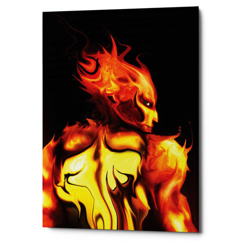 "Epic Graffiti ""Rage"" by Michael Stewart, Giclee Canvas Wall Art"
