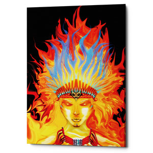 "Epic Graffiti ""Totem"" by Michael Stewart, Giclee Canvas Wall Art"