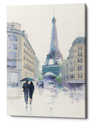 "Epic Graffiti ""Walking in the Rain"" by Avery Tillmon, Giclee Canvas Wall Art"
