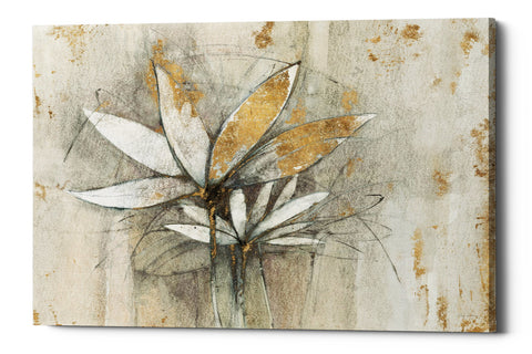 "Epic Graffiti ""Windflowers Gold"" by Avery Tillmon, Giclee Canvas Wall Art"