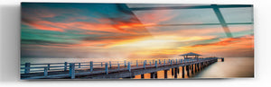 "Epic Graffiti ""Not What It A-Piers"" in a High Gloss Acrylic Wall Art, 60"" x 20"""