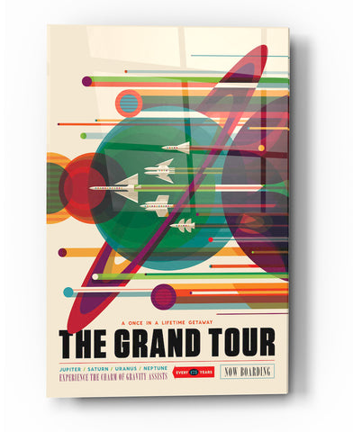 "Image of Epic Graffiti Visions of the Future:The Grand Tour Acrylic Wall Art, 20"" x 28"""