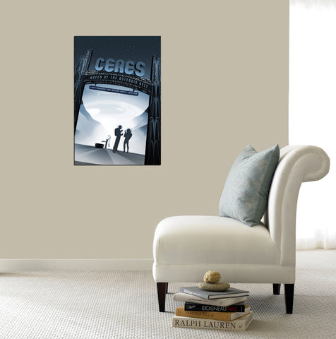 "Image of Epic Graffiti Visions of the Future: Ceres Acrylic Wall Art, 20"" x 28"""