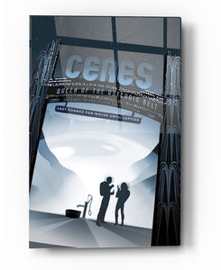"Epic Graffiti Visions of the Future: Ceres Acrylic Wall Art, 20"" x 28"""