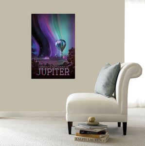 Epic Graffiti Visions of the Future: Jupiter Acrylic Wall Art, 20