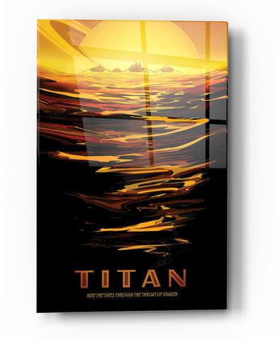 "Image of Epic Graffiti Visions of the Future: Titan Acrylic Wall Art, 20"" x 28"""