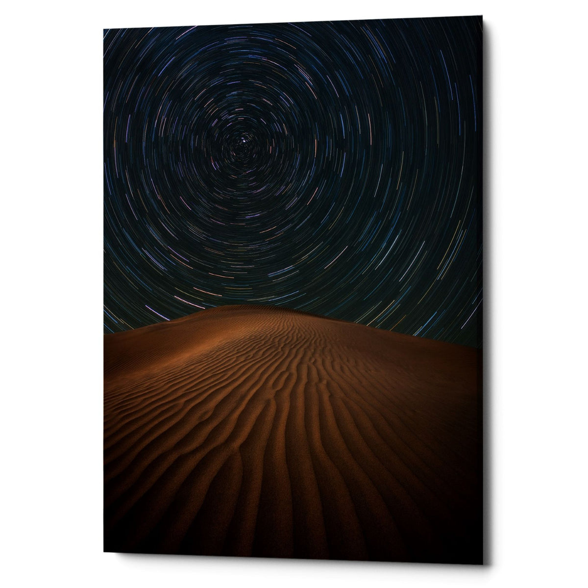 "Epic Graffiti ""Alone on The Dunes"" by Darren White, Giclee Canvas Wall Art"